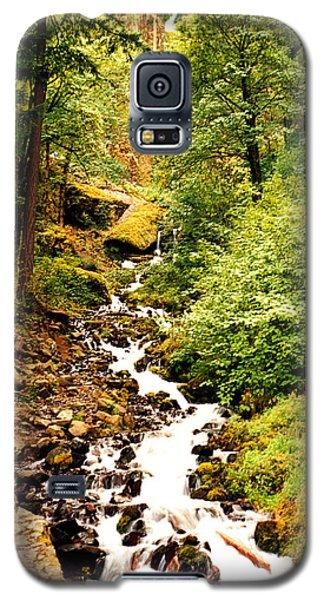 Galaxy S5 Case featuring the photograph Oregon Hobbit House by Maureen E Ritter