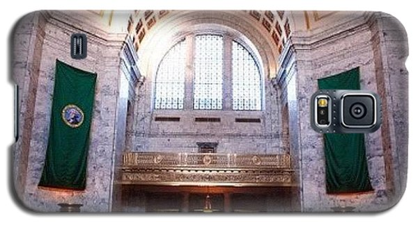 Decorative Galaxy S5 Case - Oregon State Capitol by Michael Lynch