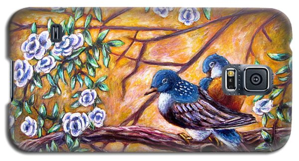 Oriental Birds Galaxy S5 Case