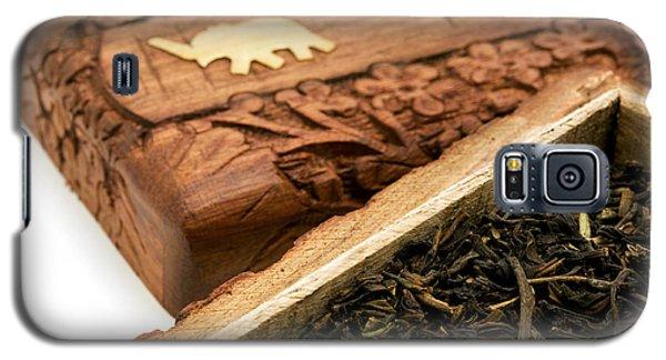 Ornate Box With Darjeeling Tea Galaxy S5 Case