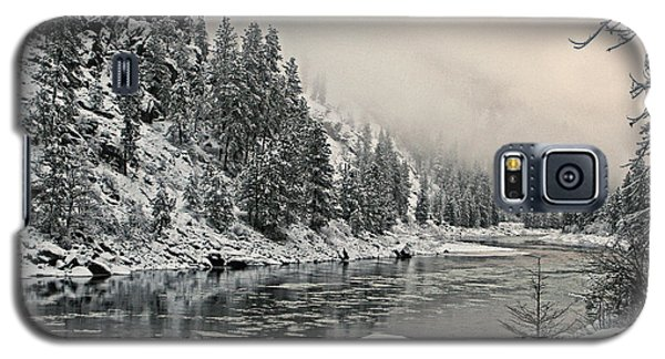 Orofino Snow Clearwater River Galaxy S5 Case