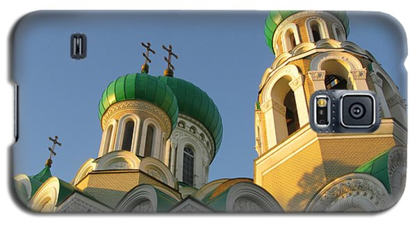 Orthodox Church Of Sts Michael And Constantine- Vilnius Lithuania Galaxy S5 Case by Ausra Huntington nee Paulauskaite