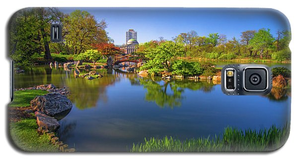 Osaka Garden Pond Galaxy S5 Case