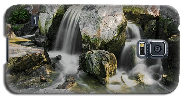 Osaka Garden Waterfall Galaxy S5 Case