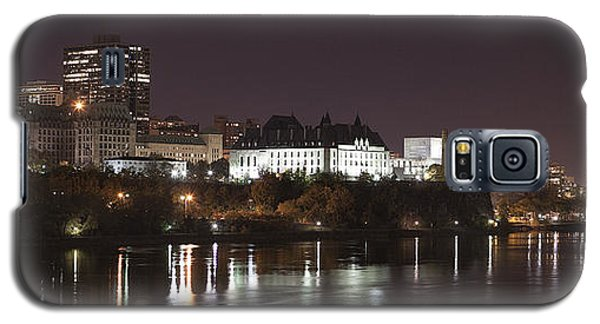 Galaxy S5 Case featuring the photograph Ottawa Skyline by Eunice Gibb