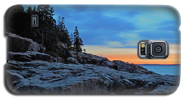 Otter Galaxy S5 Case - Otter Point At Dawn by Rick Berk