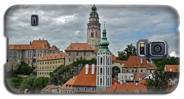 Galaxy S5 Case featuring the photograph Overview Of Cesky Krumlov by Kirsten Giving