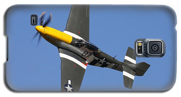 P51 Mustang Cadillac Of The Skies Galaxy S5 Case by Ken Brannen