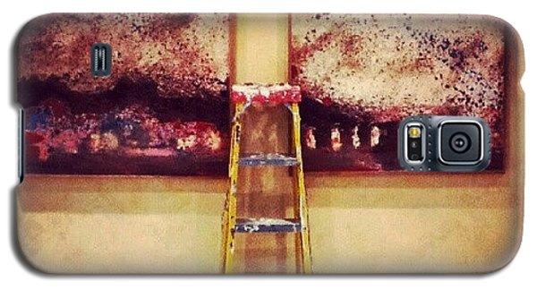 #paint #colors #ladder #wall #jordan Galaxy S5 Case