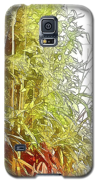 Painted Bamboo Galaxy S5 Case