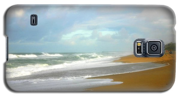 Galaxy S5 Case featuring the photograph Painted Beach by Cindy Haggerty