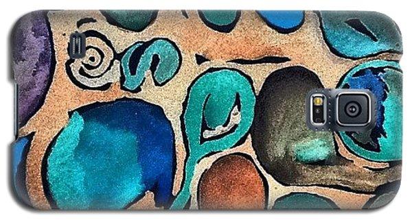Galaxy S5 Case - Circles Of Colors.... by Sandra Lira