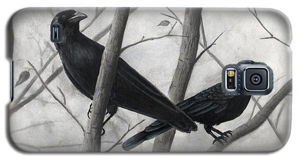Pair Of Crows Galaxy S5 Case