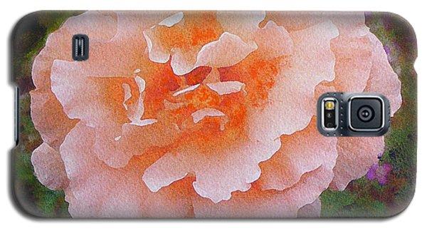 Pale Orange Begonia Galaxy S5 Case