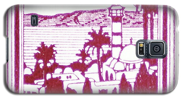 Palestine Vintage Postage Stamp Galaxy S5 Case by Andy Prendy