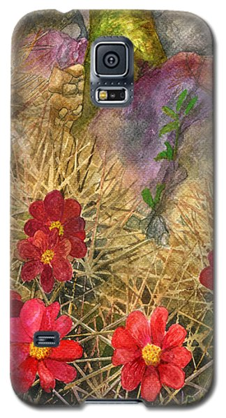 Palo Verde 'mong The Hedgehogs Galaxy S5 Case