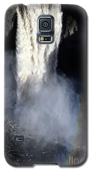 Galaxy S5 Case featuring the photograph Palouse Falls by Sharon Elliott