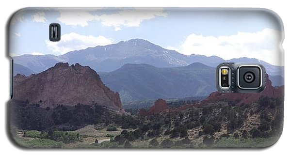 Panoramic Garden Of The Gods Galaxy S5 Case