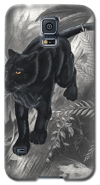 Panther By The Water Galaxy S5 Case