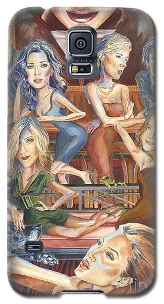 Orlando Bloom Galaxy S5 Case - Paparazzi Paradise by Lisa Hershman