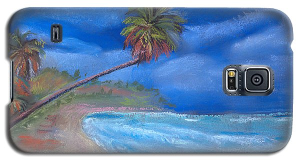 Galaxy S5 Case featuring the pastel Paradise In Puerto Rico by Arline Wagner