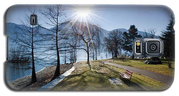 Park On The Lakefront Galaxy S5 Case