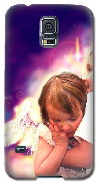 Parkinson.angelic 3 Galaxy S5 Case by Nada Meeks