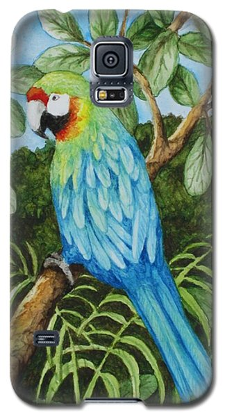 Parrot Galaxy S5 Case by Katherine Young-Beck