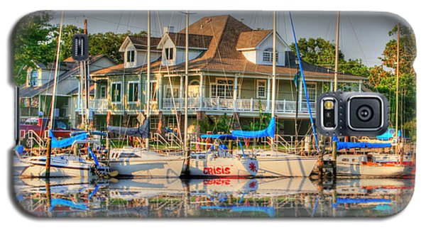 Pascagoula Boat Harbor Galaxy S5 Case