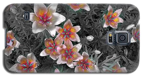 Pasqueflower In Silver Galaxy S5 Case