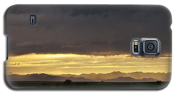 Galaxy S5 Case featuring the photograph Passing Storm Clouds by Monte Stevens