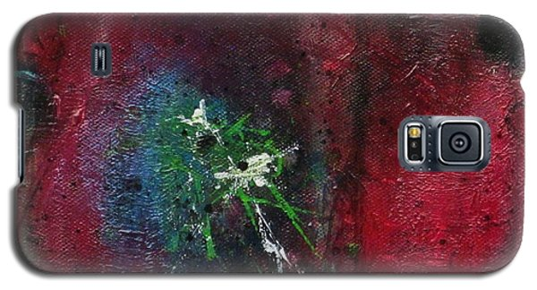 Galaxy S5 Case featuring the painting Passion 1 by Nicole Nadeau