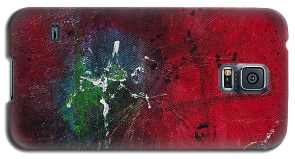 Galaxy S5 Case featuring the painting Passion 2 by Nicole Nadeau