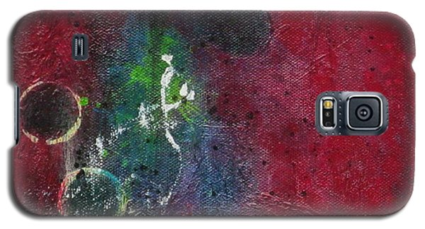 Galaxy S5 Case featuring the painting Passion 3 by Nicole Nadeau