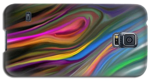 Galaxy S5 Case featuring the painting Passion by Rand Herron
