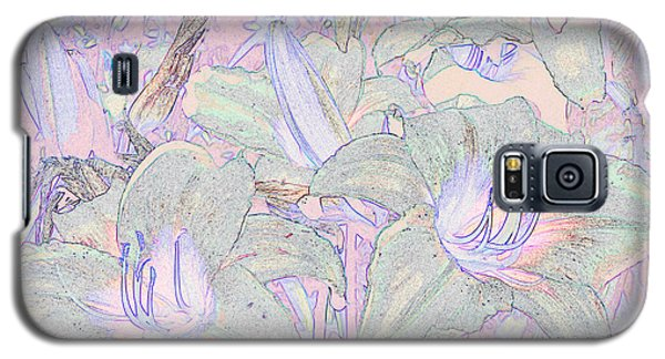Pastel Lillies Galaxy S5 Case