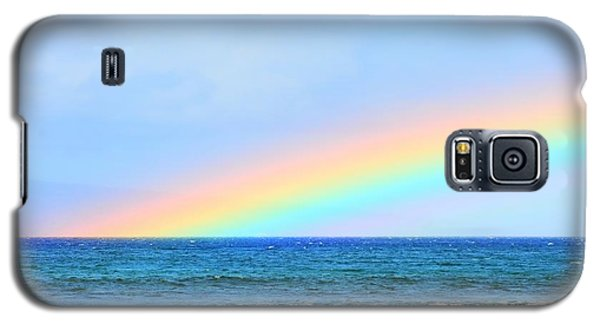 Pastel Rainbow Galaxy S5 Case