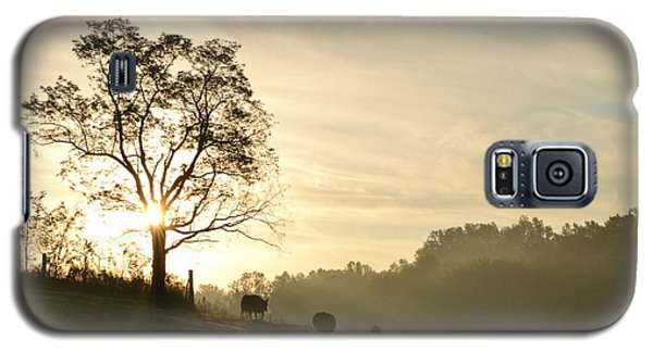 Pasture Sunrise Galaxy S5 Case