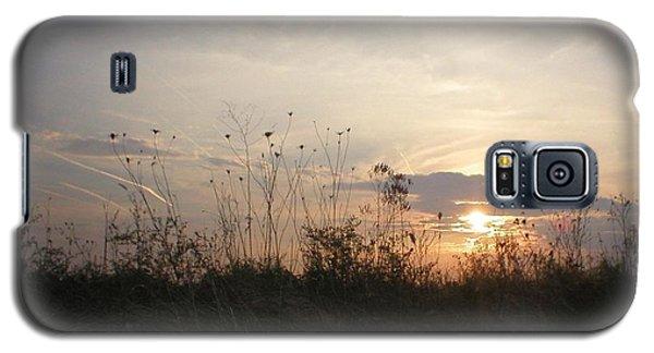 Pasture Sunset Galaxy S5 Case