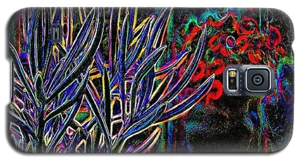 Floral Galaxy S5 Case - Patio Plants II by James Granberry