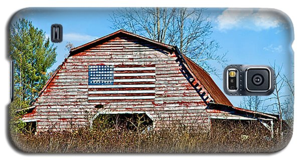 Patriotic Barn Galaxy S5 Case