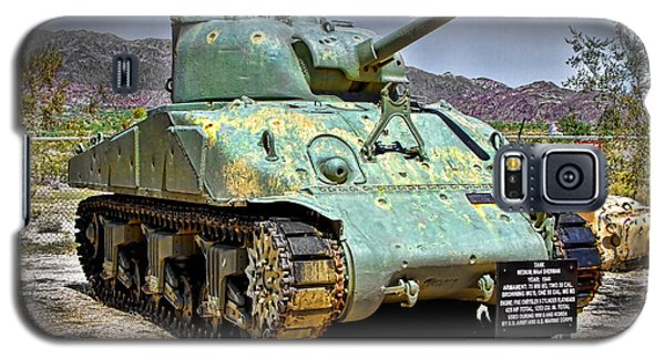 Patton M4 Sherman Galaxy S5 Case