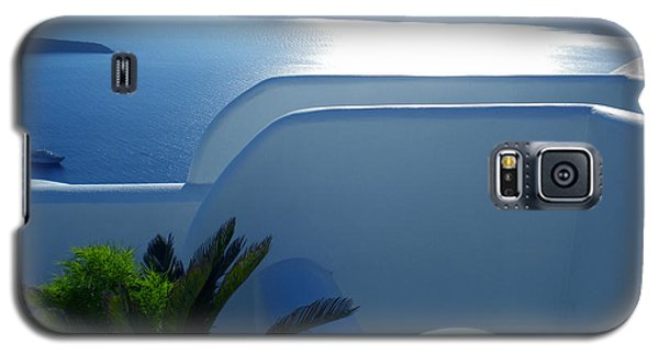 Galaxy S5 Case featuring the photograph Peaceful Sunset Santorini by Colette V Hera  Guggenheim