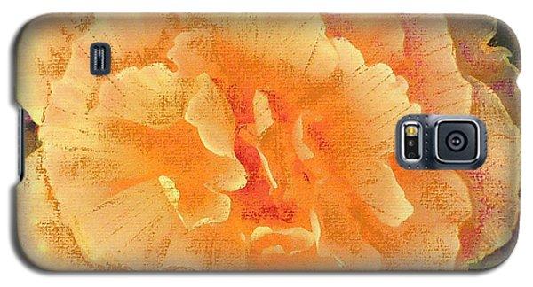 Peach Begonia Galaxy S5 Case