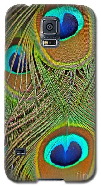 Peacock Feather 2 Galaxy S5 Case