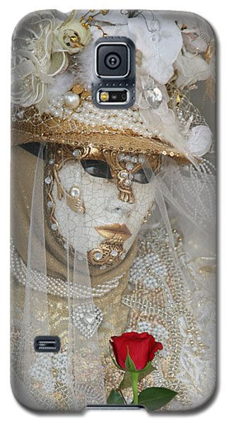 Pearl Bride With Rose 2 Galaxy S5 Case
