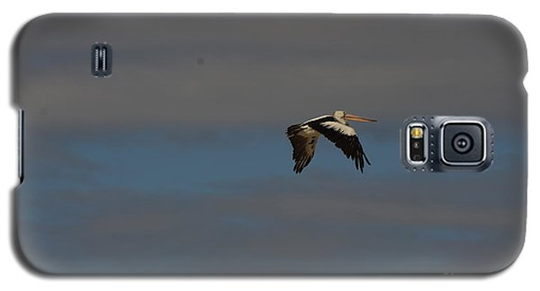 Galaxy S5 Case featuring the photograph Pelican In Flight 4 by Blair Stuart