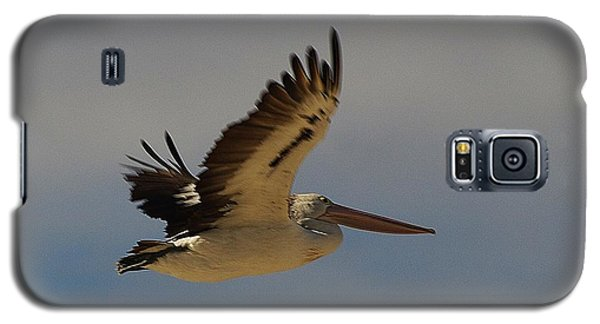Galaxy S5 Case featuring the photograph Pelican In Flight 5 by Blair Stuart