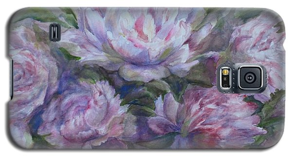 Peonies Galaxy S5 Case by Bonnie Goedecke