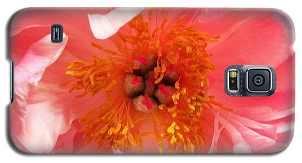 Galaxy S5 Case featuring the photograph Peony by Peter Mooyman